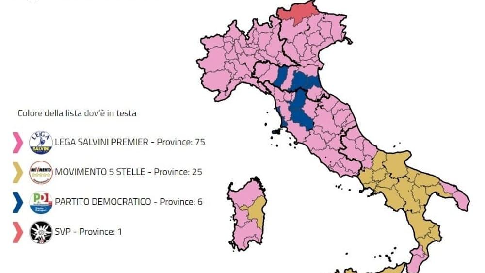 risultati elezioni europee liste mappa-2-2