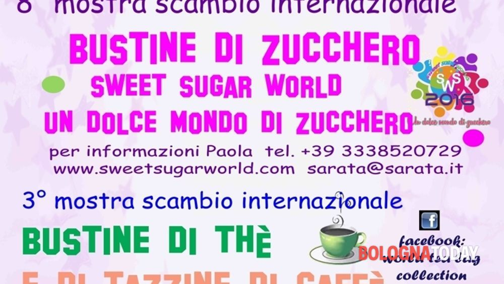 mostra scambio internazionale collezionisti bustine di zucchero, tè e tazzine da caffe'-2