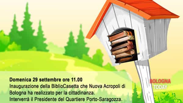 """Inaugurazione della """"Bibliocasetta"""""""