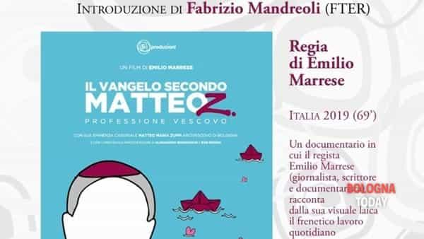 """""""Il Vangelo secondo Matteo Z"""": il docufilm sul Cardinale Matteo Maria Zuppi al Tivoli"""