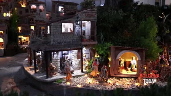 Gran Presepe di Via Azzurra: per Natale torna il piccolo paese animato