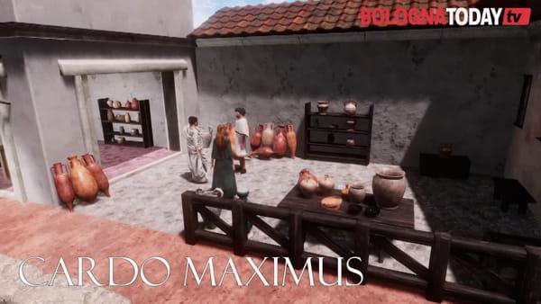 Ecco Bononia, Bologna in età romana: templi, archi, basilica e foro\VIDEO