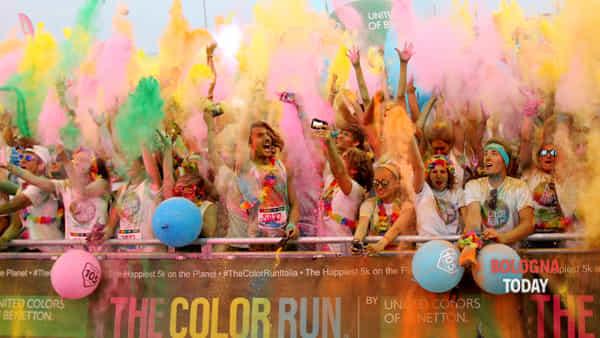 The Color Run: la prima tappa a Bologna