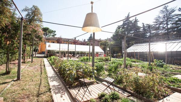 Giardini Margherita: inaugurazione dell'orto e della gabbia del leone