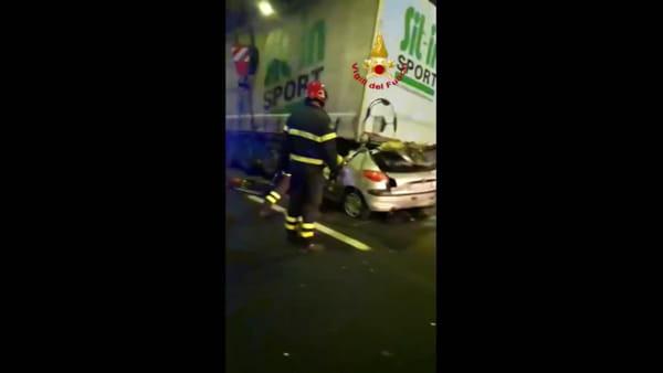 VIDEO| Incidente mortale in A1: muore un 25enne