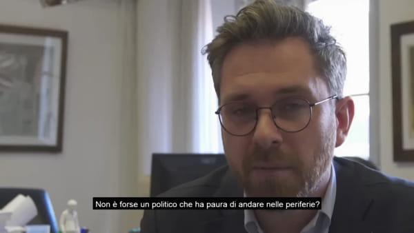 """Manifestazione al Pilastro dopo la 'citofonata' di Salvini. Lepore: """"La buona politica non ha bisogno della scorta"""""""
