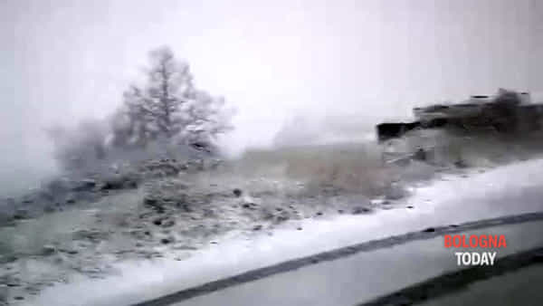 Neve in Appennino | VIDEO E FOTO