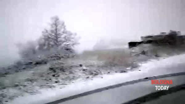 Neve in Appennino | VIDEO E FOTO