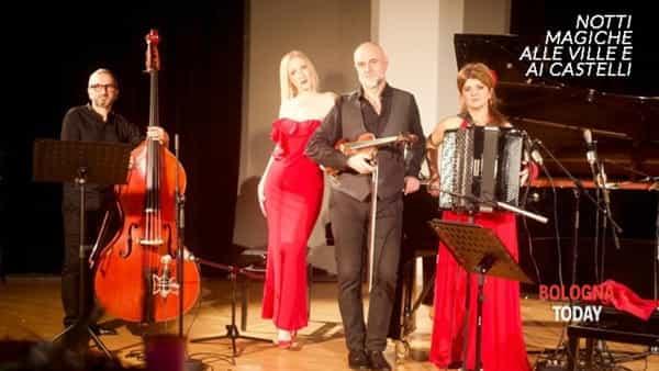 Mirada de Tango Quartet in concerto Rocca di Dozza Imolese