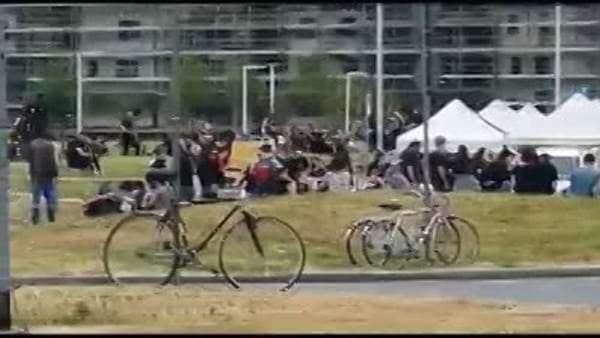 """Bolognina, assembramenti nel parco vicino all'ex Xm24, una residente: """"Questa è la Bologna che perde"""""""