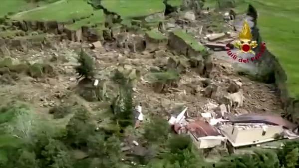 VIDEO| Maltempo, frana a Borgo Tossignano: evacuate abitazioni