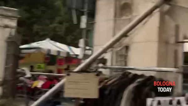 Il vento fa danni in PIazzola: le immagini dopo la raffica   VIDEO