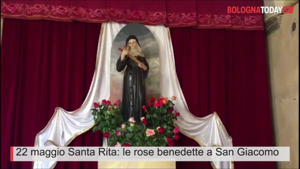 VIDEO| 22 maggio Santa Rita: la tradizione delle rose benedette in città