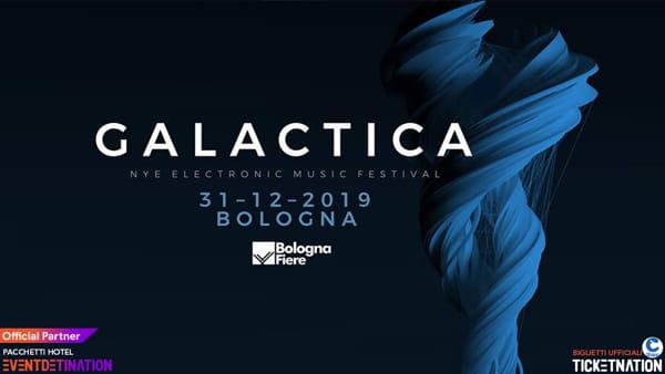"""""""Galactica Festival"""", il Capodanno di musica elettronica a Bologna"""
