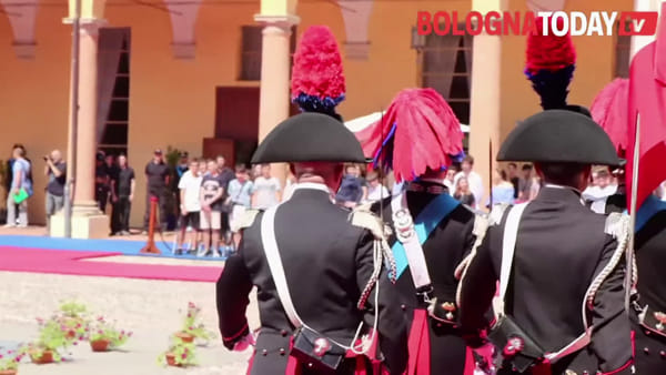 Festa dei carabinieri, la cerimonia in Caserma Manara\VIDEO