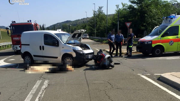 Incidente a Pianoro: schianto in moto sulla Fondovalle, morto 50enne