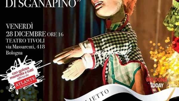 La canzone di Sganapino al teatro Tivoli