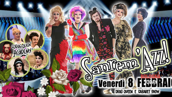 sanrem azz! - drag queen cabaret show alla sala candilejas di bologna-3
