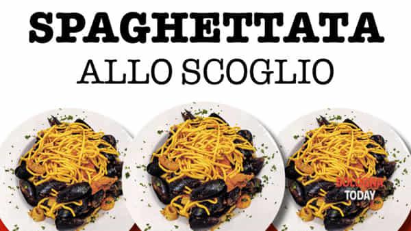 La grande spaghettata allo scoglio di Molinella