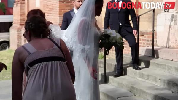 Matrimonio da favola in San Domenico, il sì di Shalini e Giorgio - VIDEO