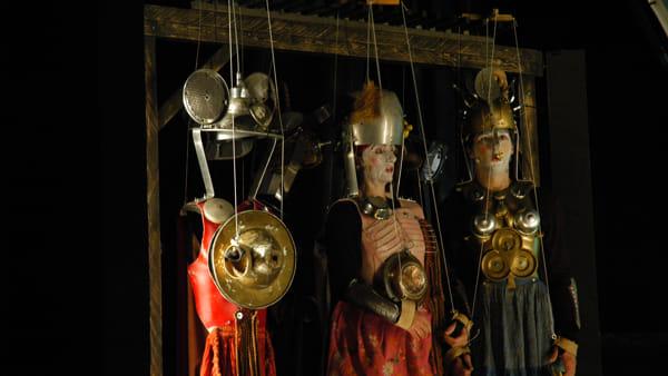 """""""Paladini di Francia"""": marionette in carne e ossa"""