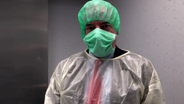 VIDEO| Al Sant'Orsola si testano le mascherine: allestito laboratorio in tempo record