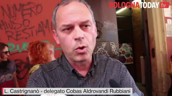 """Prof sospesa, presidio solidale:""""Borgonzoni, dimettiti! Processo politico"""""""