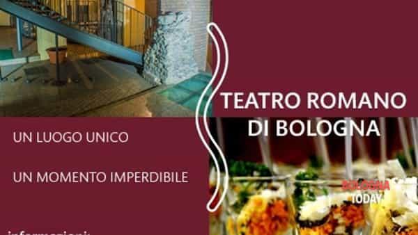 Aperitivo culturale al Teatro Romano di Bologna