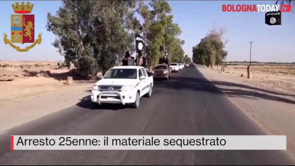 VIDEO| Terrorismo: immagini e video shock a casa dell'arrestato