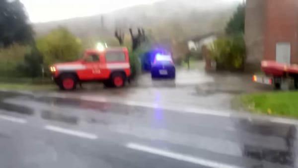VIDEO| Maltempo: frane e allagamenti, case evacuate in più Comuni