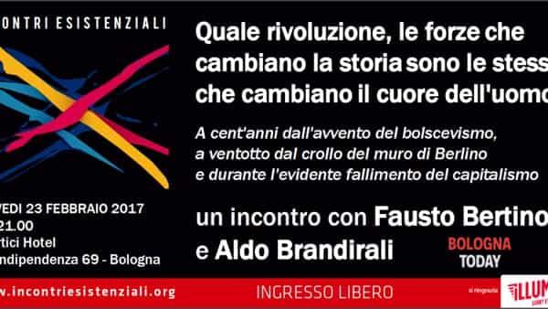 """""""Quale rivoluzione?"""": incontro con Fausto Bertinotti e Aldo Brandirali"""