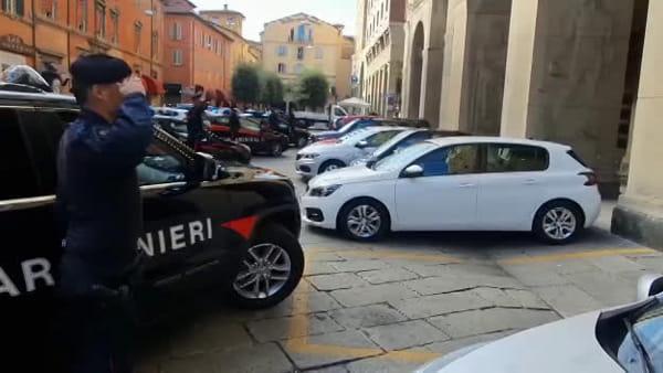 I Carabinieri di Bologna hanno reso omaggio agli agenti morti a Trieste
