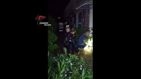 Nubifragio, intervento dei Carabinieri a Valsamoggia