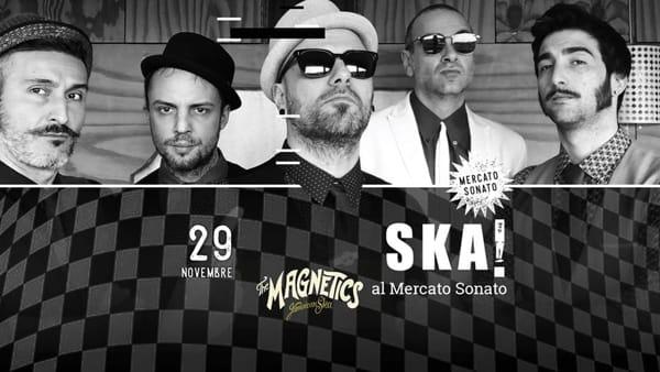 Live dei Magnetics, band italiana a tutto Ska