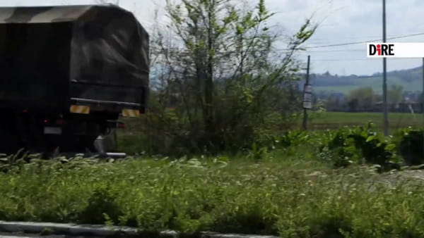Coronavirus, a Bologna altri mezzi militari con bare | VIDEO