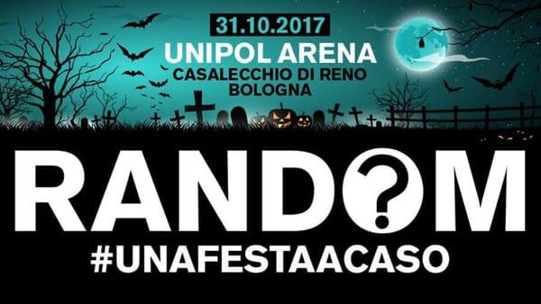 """Un Halloween """"a caso"""": il party all'Unipol Arena"""