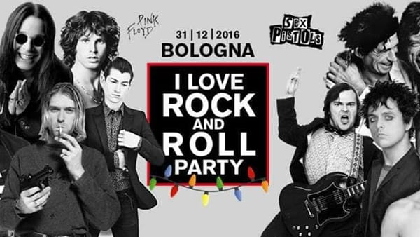 "Capodanno 2017 all'Estragon: ""I Love Rock And Roll Party"""