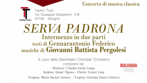 """Serva padrona"" al Teatro Tivoli"