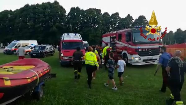 Tragedia sfiorata a Casalecchio, 2 giovani salvati dai Vigili del Fuoco | VIDEO