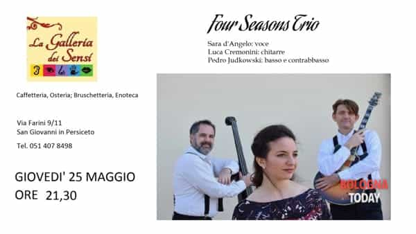 Four Seasons Trio in concerto a Persiceto