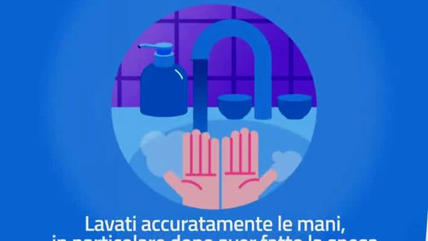 Coronavirus, cosa fare e cosa non fare quando si va a fare la spesa | VIDEO