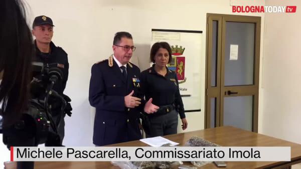 """VIDEO  Droga a Imola: """"In poche settimane sequestrati 5 chili"""""""