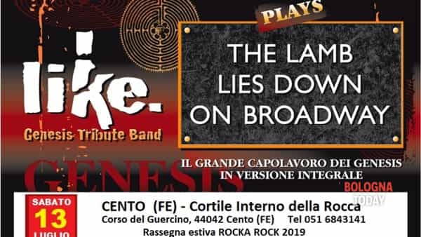 Like (Genesis Tribute Band) in concerto