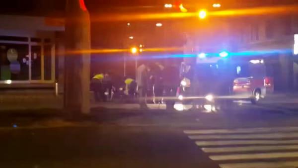 VIDEO| Porta Sant'Isaia: scontro auto-bici sui viali