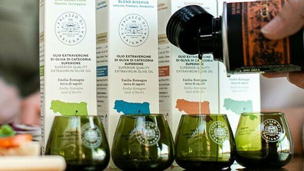 Corso di degustazione sull'olio nuovo live da Palazzo di Varignana