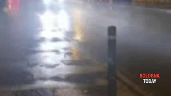 Zola Predosa: auto ad alta velocità su via Risorgimento - VIDEO
