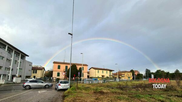 Super-arcobaleno su Bologna| VIDEO e FOTO