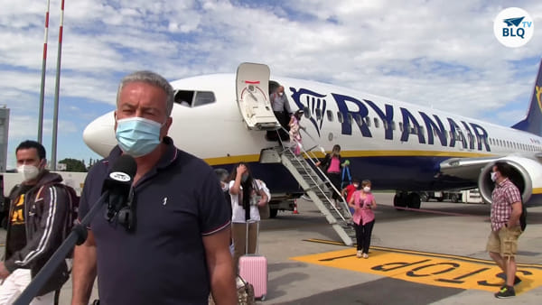 "L'aeroporto Marconi riparte alla grande: ""Welcome back Ryanair"" 