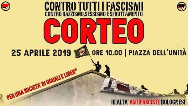 Contro tutti i fascismi: il corteo del 25 aprile