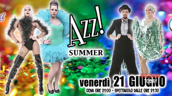 Azz Drag Queen e cabaret show